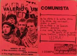 valerio un comunista manifesto