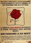 un fiore è sbocciato: ulrike meinhof manifesto