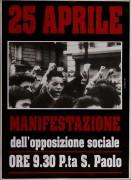 25 aprile manifesto