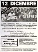 12 dicembre, contro le istituzioni totali ... manifesto