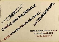 anarchici per l'astensionismo, manifesto