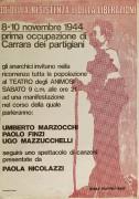 30° della Resistenza e della liberazione, manifesto