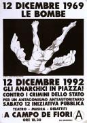 12 Dicembre 1992, manifesto