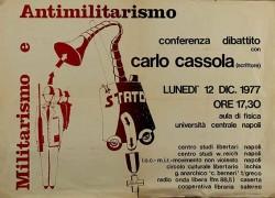 Militarismo e antimilitarismo, manifesto