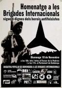 Iniciativa popular de benvinguda a les brigades internacionales, manifesto