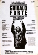Gridalo Forte, manifesto