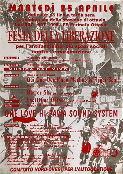 Festa della Liberazione, manifesto