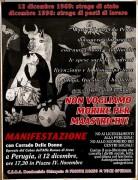 12 Dicembre 1969: strage di stato, mannifesto