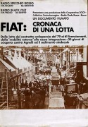 Fiat: cronaca di una lotta, manifesto