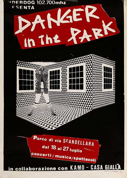 Danger in the park, manifesto