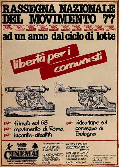 Libertà per i comunisti, manifesto