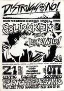 Solidarietà con il Leoncavallo, manifesto