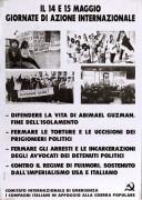 Giornata di azione internazionale, manifesto