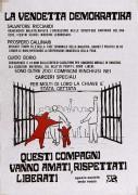 oltre 200 i compagni rinchiusi nei carceri speciali, manifesto