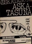 Askatasuna solidaridad, manifesto