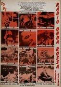 radio onda rossa 1991 manifesto