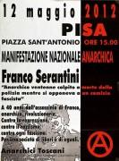 A 40 anni dalla morte di Franco, manifesto