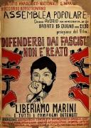 Difendersi dai fascisti non è reato, manifesto