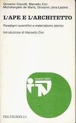 ape e architetto, copertina libro