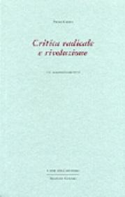 Critica radicale e rivoluzione