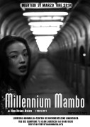 millennium mambo - locandina proiezione