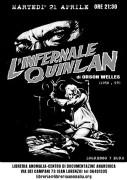 infernale quinlan - locandina proiezione