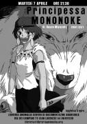mononoke - locandina proiezione