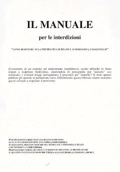 Il manuale per le interdizioni