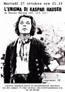 l'enigma di Kaspar Hauser - locandina film