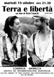 terra e libertà, locandina film di ken Loach