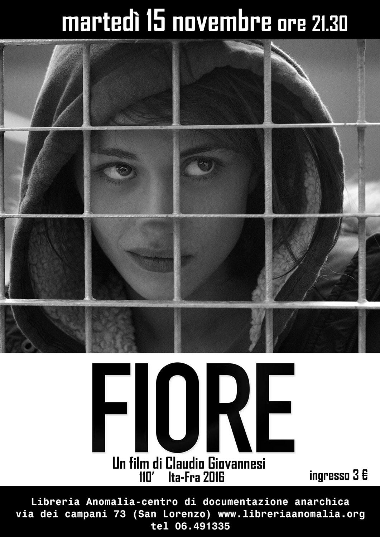 fiore, locandina film