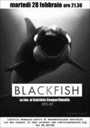 locandina del documentario blackfish