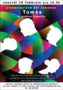 tomàs di Andrea Appetito, locandina presentazione libro libreria anomalia