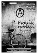 locandina esposizione poetica Poesie Ribelli