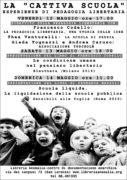 locandina iniziativa scuola libertaria