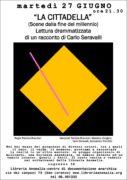 """locandina spettacolo tetrale: """"La Cittadella"""""""