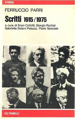 SCRITTI 1915/1975