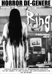 locandina proiezione film Ring