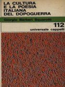 La cultura e la poesia italiana del dopoguerra