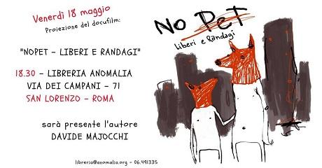 Proiezione NoPet a Roma