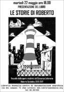 locandina della presentazione del libro:le storie di roberto