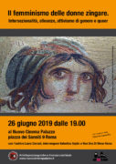 locandina presentazione libro il femminismo delle donne zingare