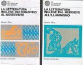 La letteratura inglese dal Medioevo all'illuminismo e la letteratura inglese dai Romantici al Novecento